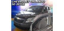 Ofuky oken Chevrolet Orlando 2011-2018 (+zadní)
