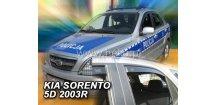 Ofuky oken KIA Sorento 2002-2009 (+zadní)