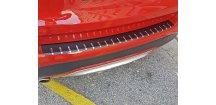 Kryt prahu pátých dveří BMW X3 F25 FL 2014-2017 • nerez s karbonem