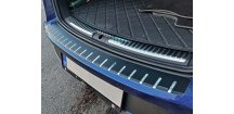 Kryt prahu pátých dveří Seat Leon 2013-2018 ST Combi • nerez s karbonem