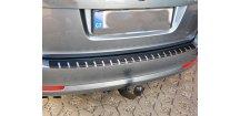 Kryt prahu pátých dveří Škoda Octavia II 2004-2008 Combi • nerez s karbonem