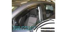 Ofuky oken Mitsubishi Colt 2003-2012 (+zadní)