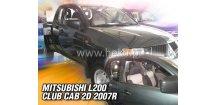 Ofuky oken Mitsubishi L200 Club Cab 2005-2014