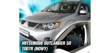 Ofuky oken Mitsubishi Outlander II 2007-2013 (+zadní)