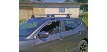 Střešní nosiče Nissan Qashqai J11 2014-2018 (na holou střechu) • ALU • Thule