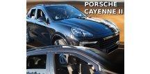 Ofuky oken Porsche Cayenne II 2010-2017 (+zadní)