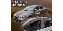 Ofuky oken Fiat Tipo 2016-2018 (+zadní) Sedan/htb