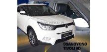 Ofuky oken SsangYong Tivoli 2015-2018 (+zadní)