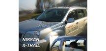 Ofuky oken Nissan X-Trail T30 2001-2007 (+zadní)