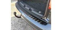 Kryt prahu pátých dveří VW Caddy FL 2015-2017 • nerez s karbonem