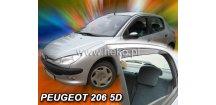 Ofuky oken Peugeot 206 1998-2008 (+zadní) htb