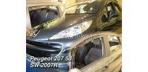 Ofuky oken Peugeot 207 2007-2012 (+zadní) SW Combi