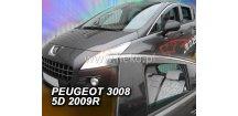 Ofuky oken Peugeot 3008 2009-2016 (+zadní)