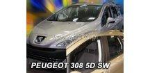 Ofuky oken Peugeot 308 2007-2013 (+zadní) SW Combi