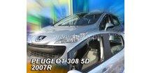 Ofuky oken Peugeot 308 5-dvéř. 2007-2013