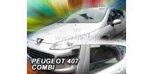 Ofuky oken Peugeot 407 2004-2010 (+zadní) SW Combi