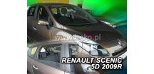 Ofuky oken Renault Scenic III 2009-2016 (+zadní)