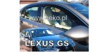 Ofuky oken Lexus GS 2012-2018 (+zadní)