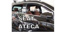 Ofuky oken Seat Ateca 2016-2018 (+zadní)