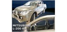 Ofuky oken Mitsubishi L200 2015-2018 Double Cab