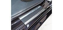 Prahové lišty Honda Civic X 2017-2018 htb • nerez s karbonem