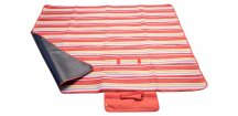 Pikniková deka FLEECE • červená
