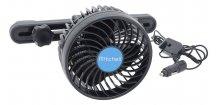 Ventilátor MITCHEL 12V • na opěrku hlavy