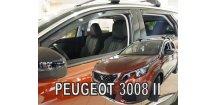 Ofuky oken Peugeot 3008 II 2017-2018 (+zadní)