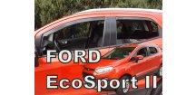 Ofuky oken Ford Ecosport II 2014-2017 (+zadní)