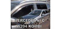 Ofuky oken Mercedes C S204 2007-2014 (+zadní) Combi