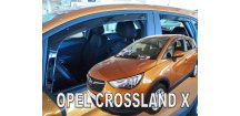 Ofuky oken Opel Crossland X 2017-2018 (+zadní)