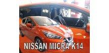 Ofuky oken Nissan Micra K14 2017-2018 (+zadní)