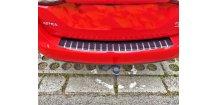 Kryt prahu pátých dveří Opel Astra K 2016-2018 Combi • nerez s karbonem