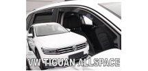 Ofuky oken VW Tiguan Allspace 2018- (+zadní)