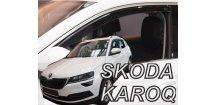 Ofuky oken Škoda Karoq 2017-2018