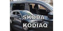Ofuky oken Škoda Kodiaq 2017-2018 (+zadní)