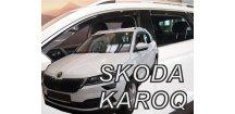 Ofuky oken Škoda Karoq 2017-2018 (+zadní)