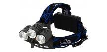 Čelovka • LED 400 lm • s pomocným osvětlením