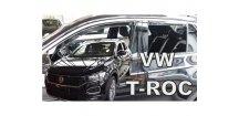 Ofuky oken VW T-Roc 2018- (+zadní)