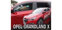 Ofuky oken Opel Grandland X 2017-2018 (+zadní)