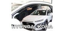 Ofuky oken Hyundai Kona 2017-2018 (+zadní)