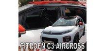 Ofuky oken Citroen C3 Aircross 2017-2018 (+zadní)