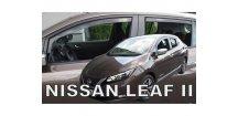 Ofuky oken Nissan Leaf II 2018- (+zadní)