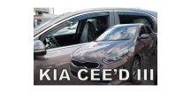 Ofuky oken KIA Ceed III 2018- (+zadní) htb