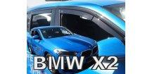 Ofuky oken BMW X2 F39 2018- (+zadní)