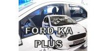 Ofuky oken Ford Ka+ 2016-2018 (+zadní)