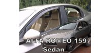 Ofuky oken Alfa Romeo 159 2005-2011 Sedan (+zadní)