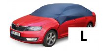 Ochranná plachta auta krátká vel. L 2,6x1,7x0,6 m, nylonová