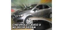 Ofuky oken Chevrolet Aveo 2011-2015 (+zadní) Sedan