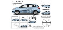 Boční lišty dveří Ford C-Max II 2010-2018